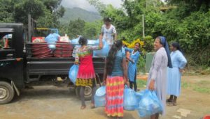 Assistance for flood victims in Sri Lanka